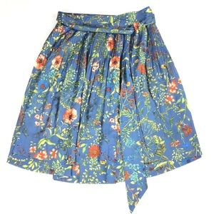 Isani for Target   Floral Print A-Line Skirt